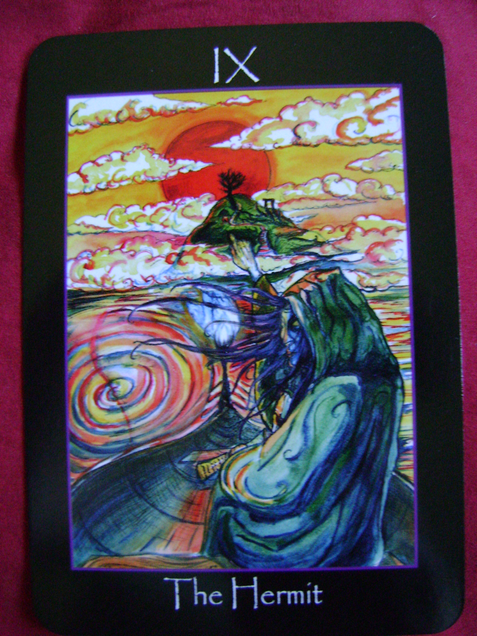 The Hermit Tarot Card Meaning In Readings Isolation: Tarot Of The Sidhe